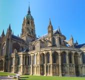 Katedra Bayeux, Normandy, Francja Fotografia Royalty Free