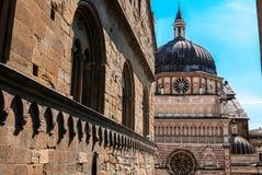 Katedra Bergamo Lombardy Włochy fotografia royalty free