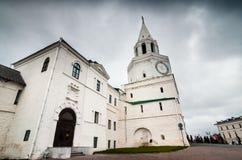 Katedra biała cegła Zdjęcie Stock