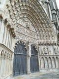 Katedra Bourges, Francja Fotografia Stock