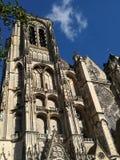 Katedra Bourges, Francja Obrazy Royalty Free
