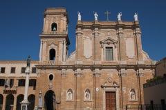 Katedra Brindisi Zdjęcie Royalty Free