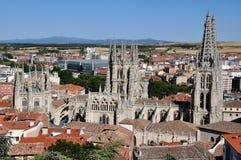 Katedra Burgos Zdjęcia Royalty Free