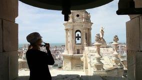 Katedra Cadiz panorama zdjęcie wideo