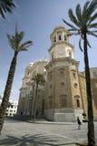 katedra cadiz sławna zdjęcia stock
