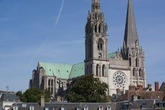Katedra Chartres, Francja - fotografia royalty free