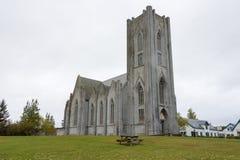 Katedra Chrystus królewiątko, Reykjavik, Iceland Zdjęcie Royalty Free