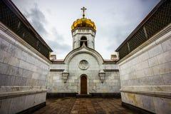 Katedra Chrystus wybawiciel, Moskwa, Rosja Zdjęcia Stock