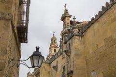 Katedra cordoba meczet, Hiszpania Obraz Royalty Free