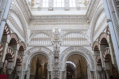 Katedra cordoba meczet, Hiszpania Zdjęcia Stock
