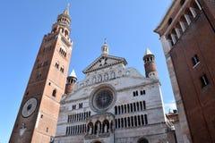 - 010 katedra Cremona, Cremona, Włochy - Zdjęcie Stock