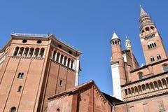 - 017 katedra Cremona, Cremona, Włochy - Zdjęcie Stock