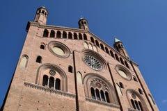 016 katedra Cremona, Cremona, Włochy - Zdjęcie Royalty Free