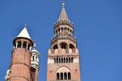 - 012 katedra Cremona, Cremona, Włochy - Zdjęcia Stock