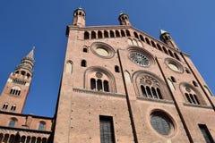 - 013 katedra Cremona, Cremona, Włochy - Obraz Royalty Free