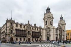 Katedra de Lima Obrazy Stock