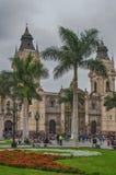 Katedra de Lima Zdjęcia Royalty Free