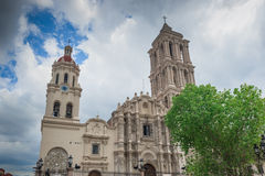 Katedra de Santiago w Saltillo, Meksyk Obraz Royalty Free