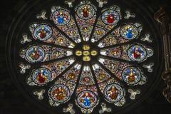 Katedra Embrun, wnętrze Obrazy Royalty Free