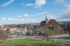 Katedra Erfurt, Niemcy -2 Zdjęcia Stock