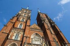 Katedra góruje Zdjęcia Stock