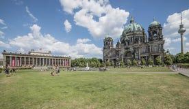Katedra Germany Europe i stary muzealny Berlin Zdjęcia Royalty Free