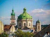 katedra gothic Gocka architektura jest stylem który rozkwitał podczas wysokiego i opóźnionego średniowiecznego okresu architektur Zdjęcie Royalty Free