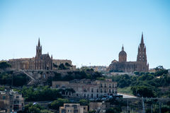 Katedra Gozo, Malta Zdjęcia Royalty Free