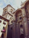 45 katedra Granada fotografia royalty free