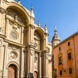 Katedra Granada, Andalusia, południowy Hiszpania Zdjęcie Stock