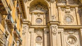 Katedra Granada, Andalusia, południowy Hiszpania Fotografia Royalty Free