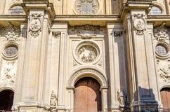 Katedra Granada, Andalusia, południowy Hiszpania Zdjęcia Stock