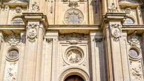 Katedra Granada, Andalusia, południowy Hiszpania Fotografia Stock