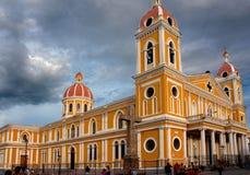 Katedra Granada, Nikaragua Fotografia Royalty Free