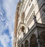 Katedra i Torrazzo, Cremona zdjęcia royalty free