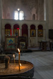 Katedra Inside Obrazy Royalty Free