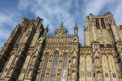 katedra ja niebo Zdjęcie Royalty Free