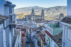 Katedra Jaen, Hiszpania Zdjęcia Stock