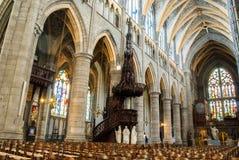 Katedra Liege Obraz Royalty Free