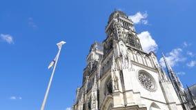 Katedra lokalizować w mieście Orléans, Francja zbiory wideo