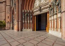 Katedra los angeles Plata, Argentyna Obraz Stock