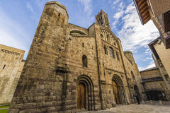 Katedra Los Angeles Seu De Urgell Zdjęcia Royalty Free