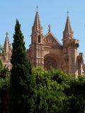Katedra los angeles Seu, Palma de Mallorca, Hiszpania Obraz Royalty Free