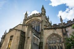Katedra Machester od strony zdjęcia royalty free