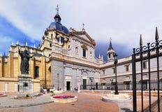 Katedra, Madryt, Hiszpania zdjęcia royalty free