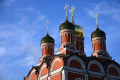 Katedra matka bóg ikona Obrazy Royalty Free