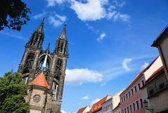 katedra meissen Zdjęcie Royalty Free