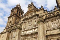 Katedra Mexico - miasto XVI Obraz Royalty Free