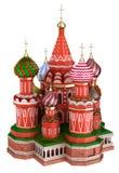 Katedra na placu czerwonym w Moskwa, Rosja, odizolowywający ilustracji