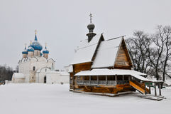 Katedra narodzenie jezusa w Suzdal fotografia stock